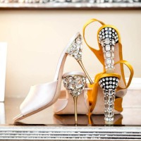 DIY Beaded Heels Inspired by Miu Miu