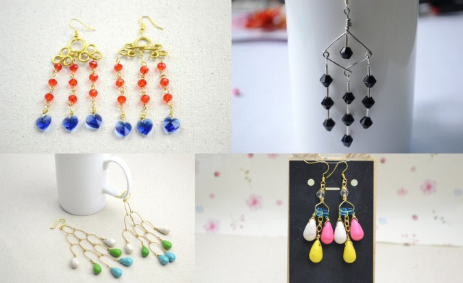 Chandelier Earrings Design Where To Buy Pretty Beads